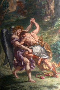 Jacob wrestling the Angel